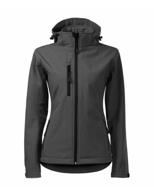 Softshell Performance damski stalowy