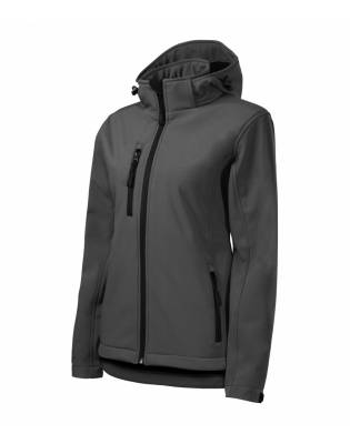 Stalowy Softshell Performance damski