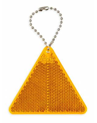 Hard reflective pendant with CE without printing - Triangle