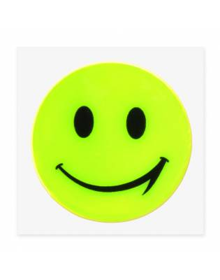 Reflective sticker happy polybag - different colors